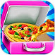奶酪披萨:校园午餐便当制作