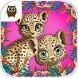 丛林动物宝宝发型沙龙
