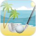 海滩迷你高尔夫